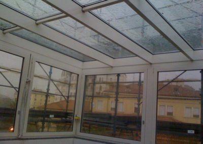 Vista interna veranda